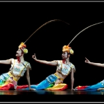 Chinese dancers.