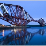 Forth railway Bridge in Edinburgh