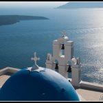 LAND16 - Santorini Blue Dome