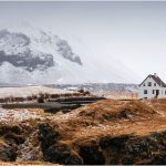 Lonely house Arnarstapi Iceland
