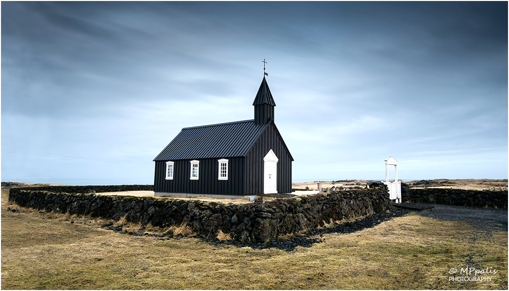 Black church of Budir, Iceland