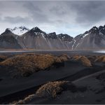 Icelandic Landscape, Vestrahorn Mountains