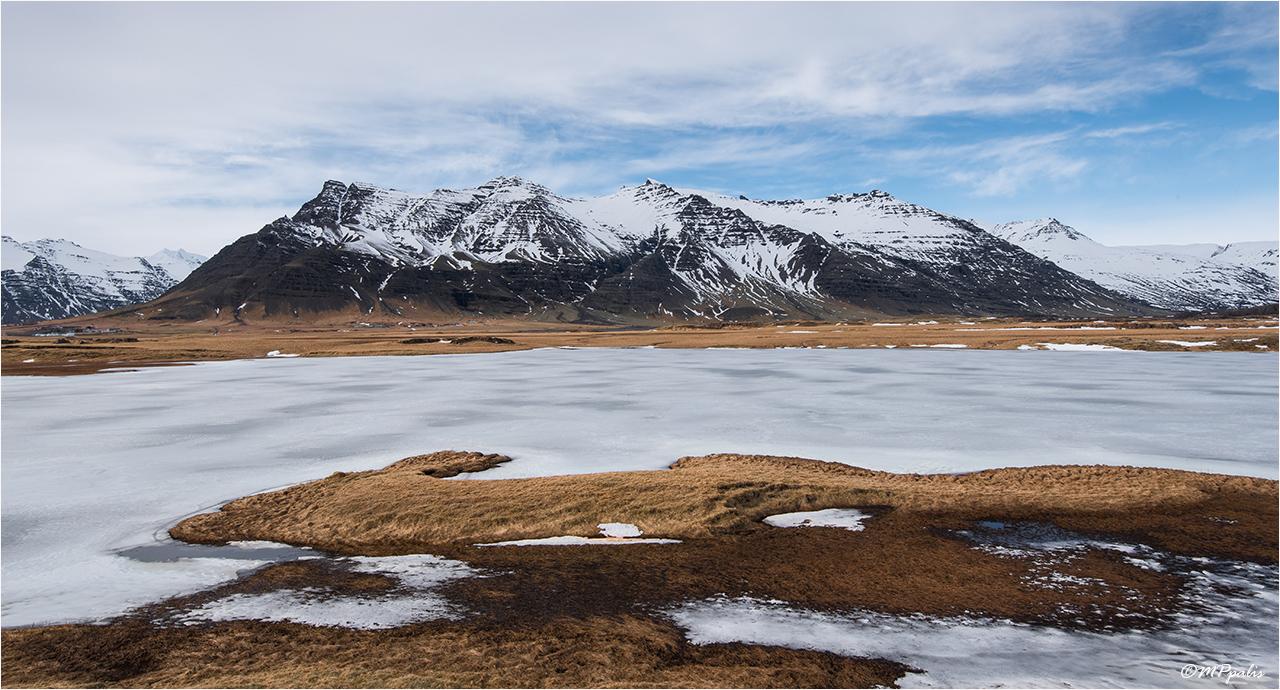 Winter Landscape, Iceland